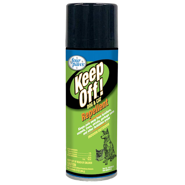 Four Paws Keep Off Indoor and Outdoor Dog and Cat Repellent - Carousel image #1