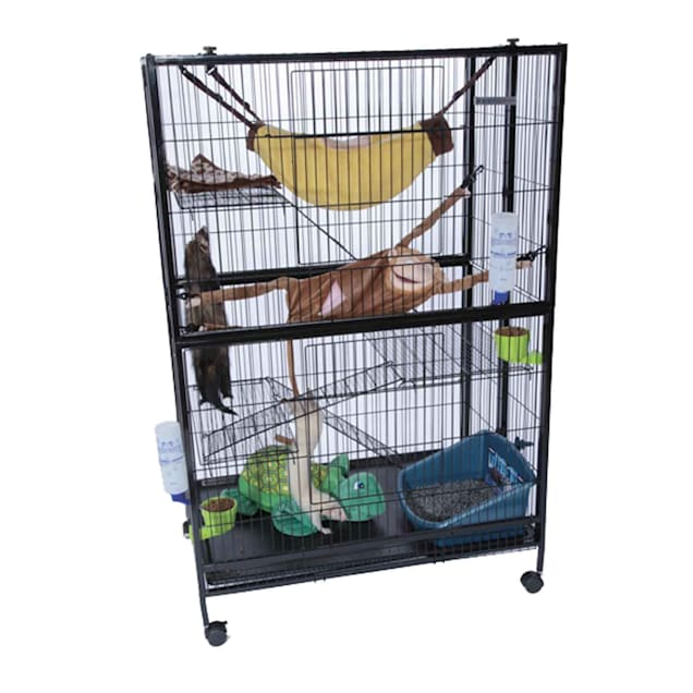 Marshall Pet Products Folding Ferret Mansion - Carousel image #1