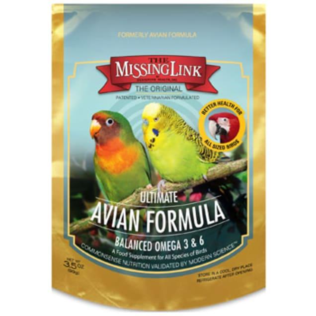 The Missing Link Original Superfood Avian Formula Bird Food Supplement, 3.5 oz. - Carousel image #1