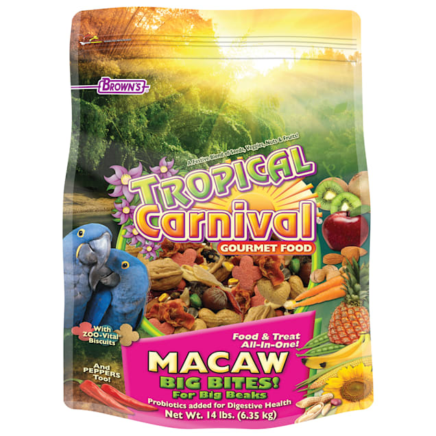 Brown's Tropical Carnival Gourmet Macaw Food - Carousel image #1