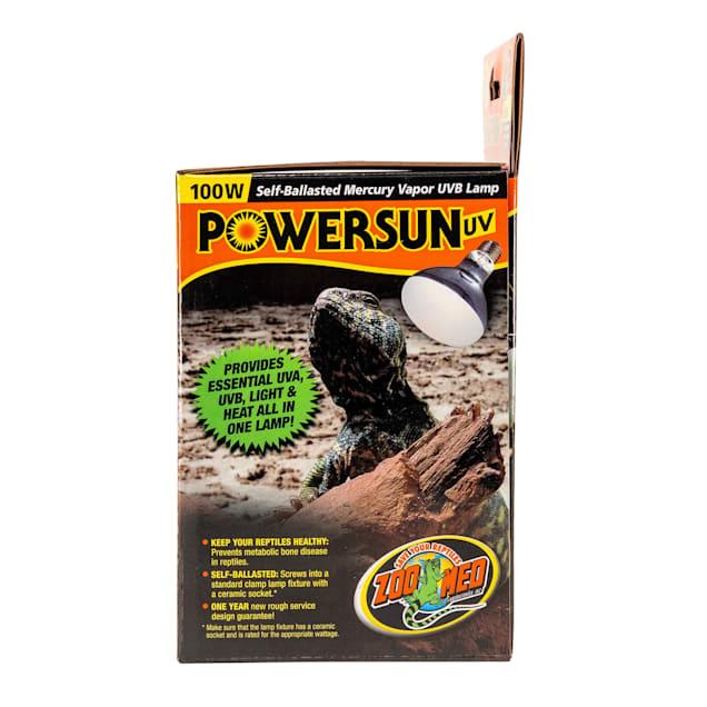 Zoo Med PowerSun UV Self-Ballasted Mercury Vapor UVB Lamp - Carousel image #1