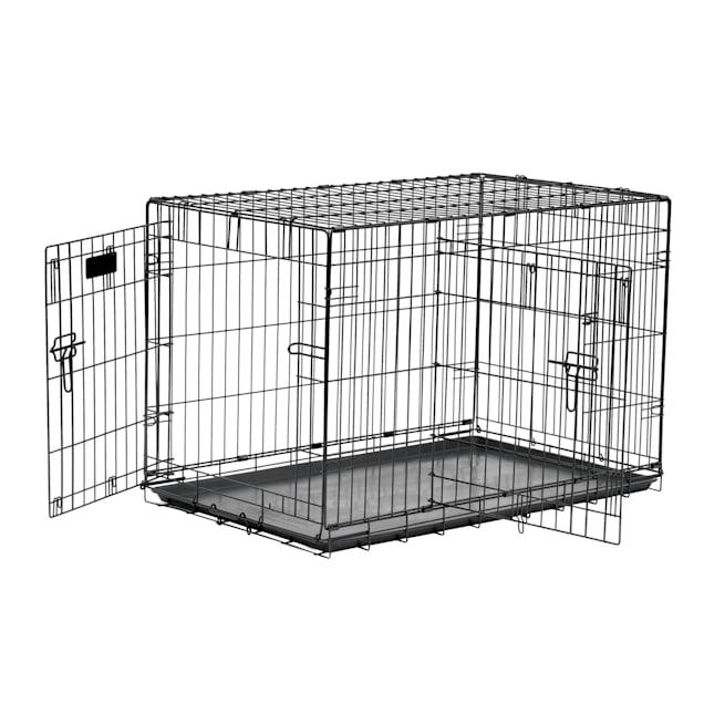 "Precision Pet 2-Door Great Crate, 30"" L X 19"" W X 22"" H - Carousel image #1"