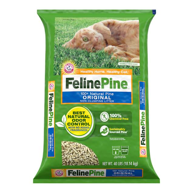 Feline Pine Original Cat Litter, 40 lbs. - Carousel image #1
