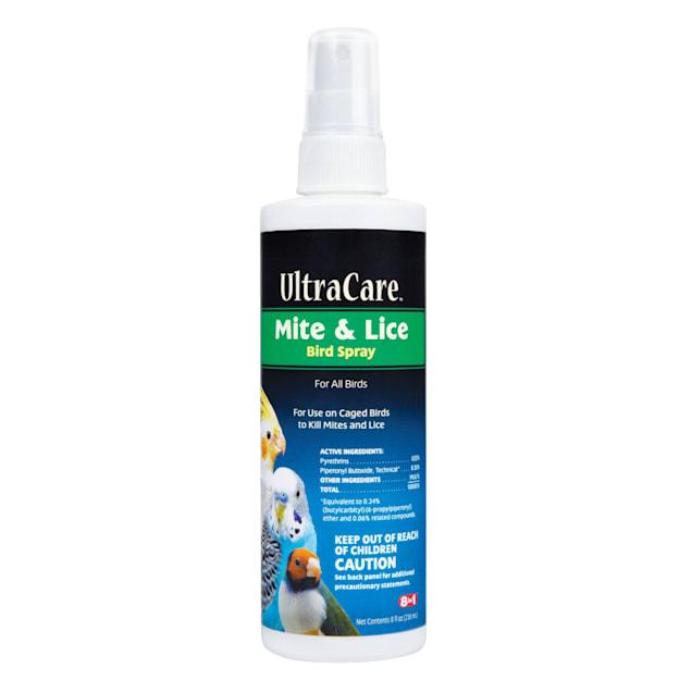 8 in 1 Ultra Care Mite & Lice Bird Spray, 8 oz. - Carousel image #1