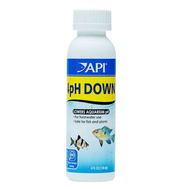 API pH DOWN Freshwater Aquarium Water pH Reducing Solution 4-Ounce Bottle - Carousel image #1