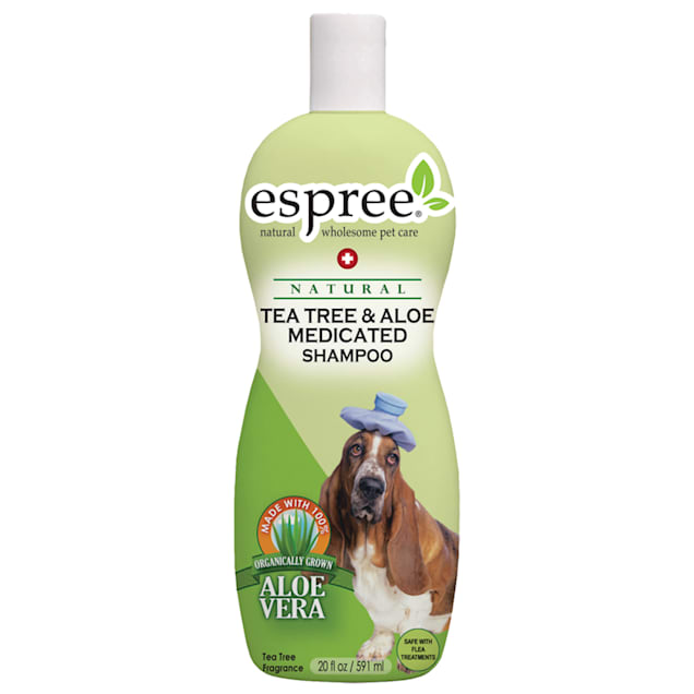 Espree Natural Tea Tree and Aloe Dog Shampoo - Carousel image #1