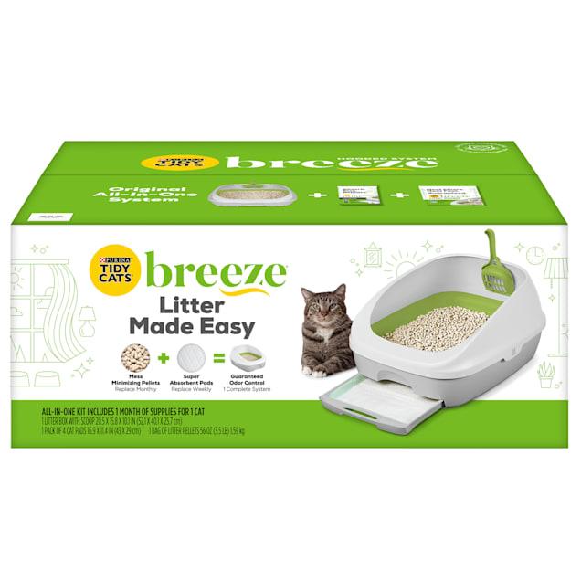 Purina Tidy Cats BREEZE System Starter Kit Cat Litter Box - Carousel image #1