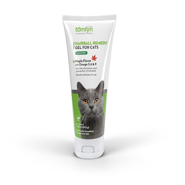 Tomlyn Laxatone Maple Flavored Hairball Lubricant for Cat, 4.25 oz. - Carousel image #1