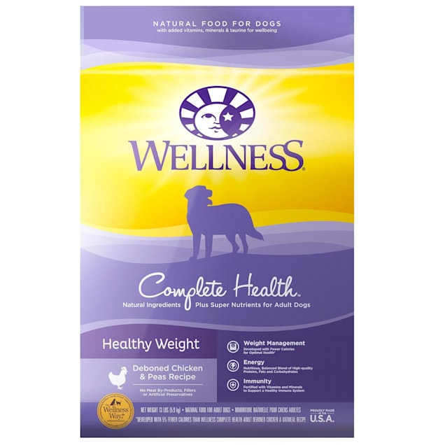 Wellness Complete Health Natural Healthy Weight Recipe Dry Dog Food, 13 lbs. - Carousel image #1