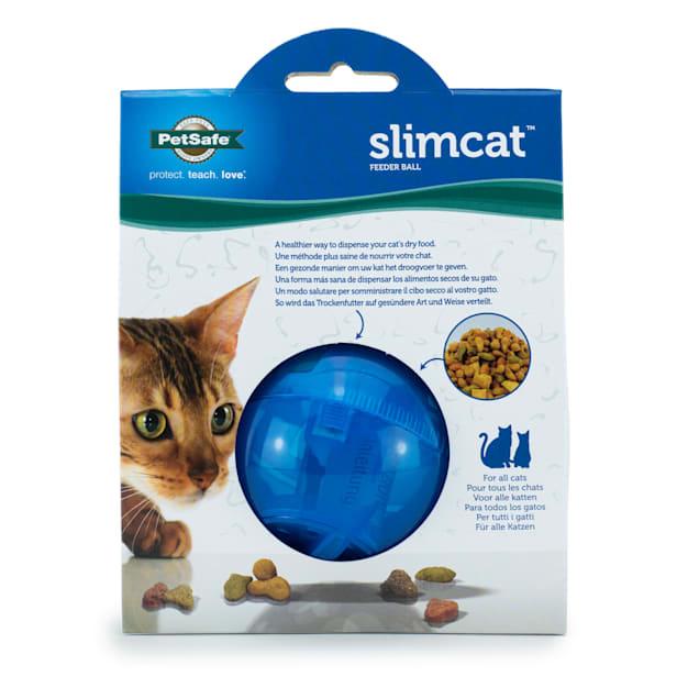 PetSafe SlimCat Cat Food Dispenser in Blue - Carousel image #1