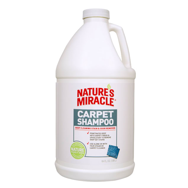 Nature's Miracle Advanced Deep Cleaning Carpet Shampoo, 64 fl. oz. - Carousel image #1