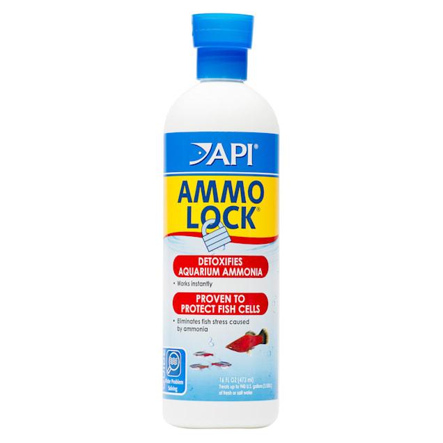API AMMO-LOCK Freshwater and Saltwater Aquarium Ammonia Detoxifier 16-Ounce Bottle - Carousel image #1