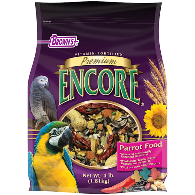 Brown's Encore Premium Parrot Food - Carousel image #1