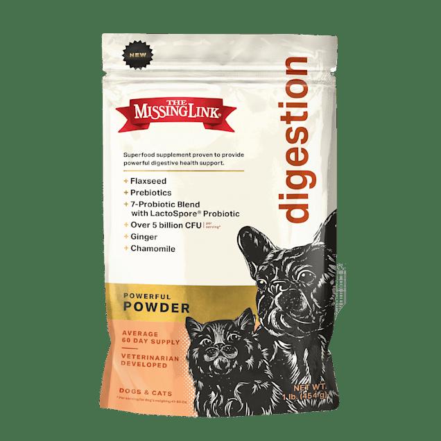 The Missing Link Original Superfood Vegetarian Skin, Coat & Digestion Supplement for Dogs, 1 lb. - Carousel image #1