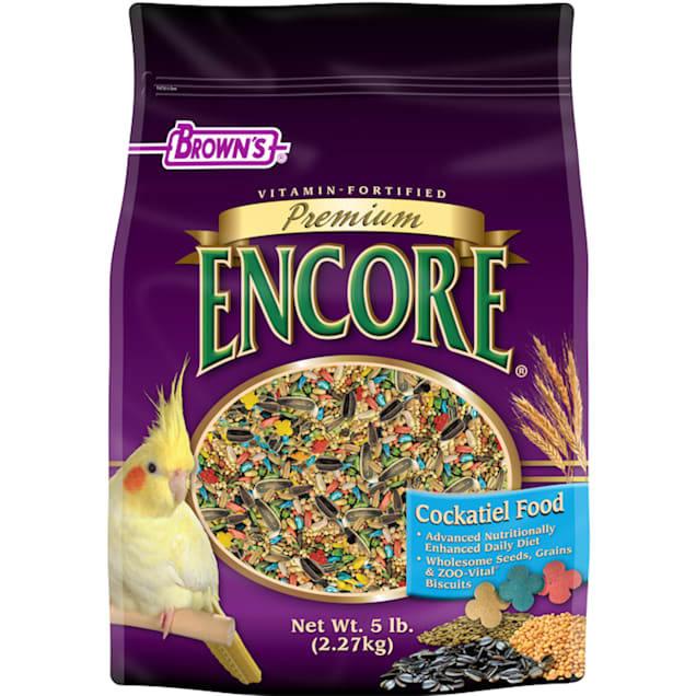 Brown's Encore Premium Cockatiel Food - Carousel image #1