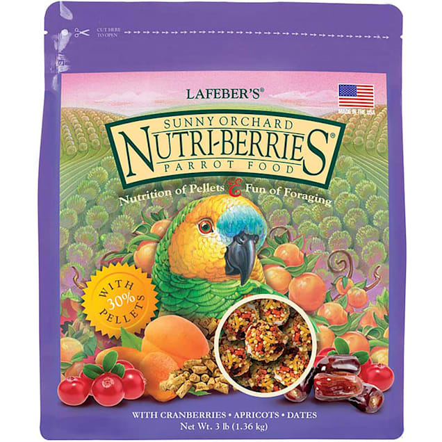 Lafeber's Sunny Orchard Nutri-Berries Parrot Food - Carousel image #1