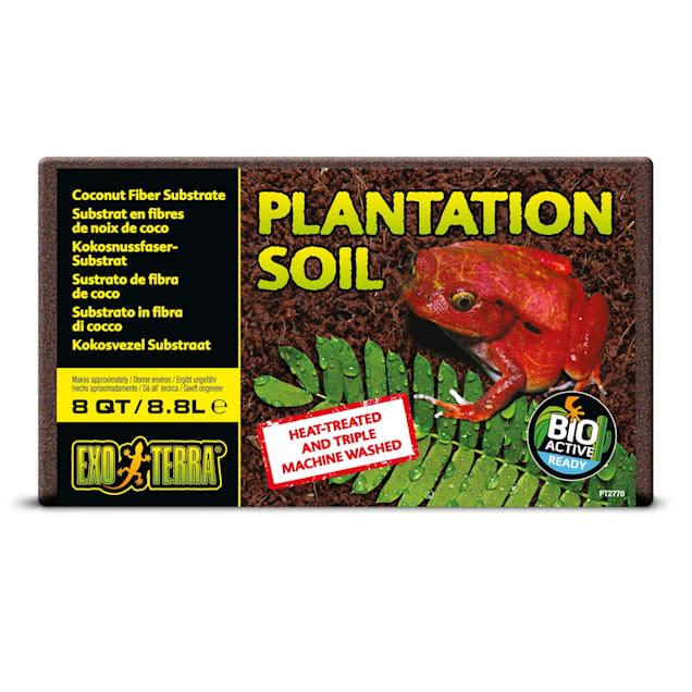Exo-Terra Plantation Soil Terrarium Substrate, 8 Quart - Carousel image #1