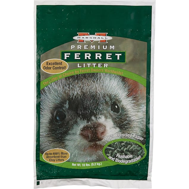 Marshall Pet Products Ferret Litter, 18 lbs. - Carousel image #1