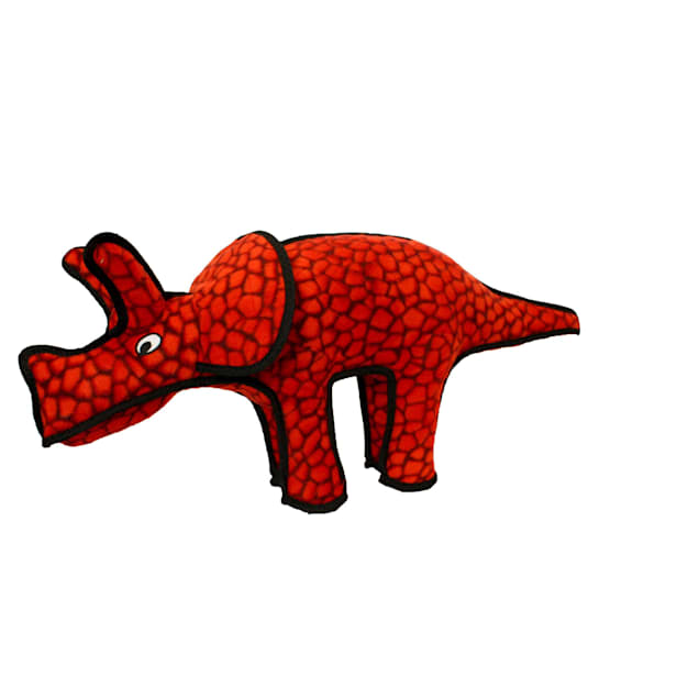 Tuffy's Dinosaur Triceratops Dog Toy, X-Large - Carousel image #1
