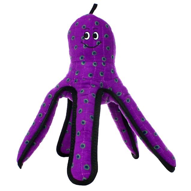Tuffy's Purple Octopus Dog Toy, Large - Carousel image #1