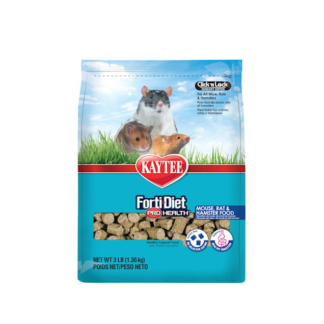 Kaytee Forti-Diet Pro Health Mouse, Rat & Hamster Food, 3 lbs. - Carousel image #1