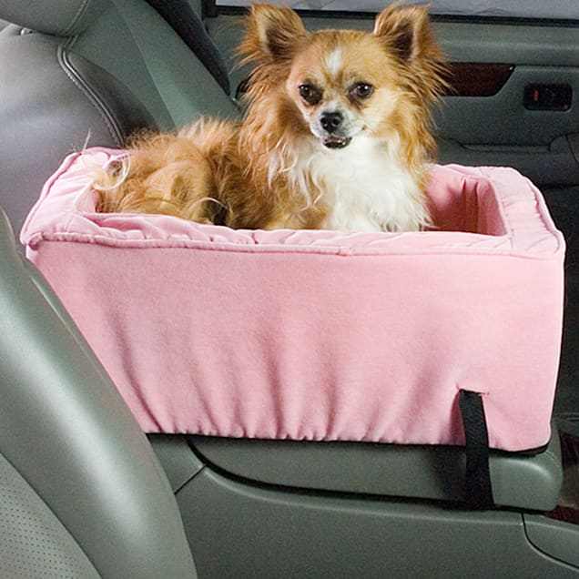 Snoozer Pink Luxury Console Lookout Dog Car Seat - Carousel image #1
