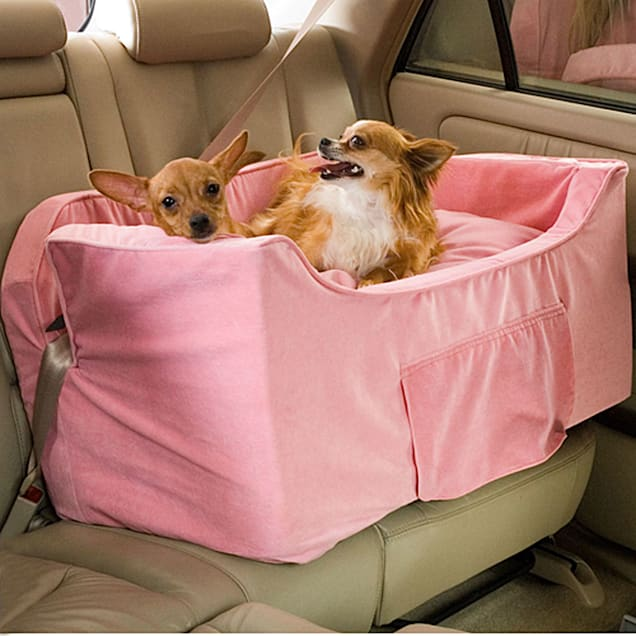 Snoozer Pink Luxury Lookout II Double Dog Car Seat - Carousel image #1