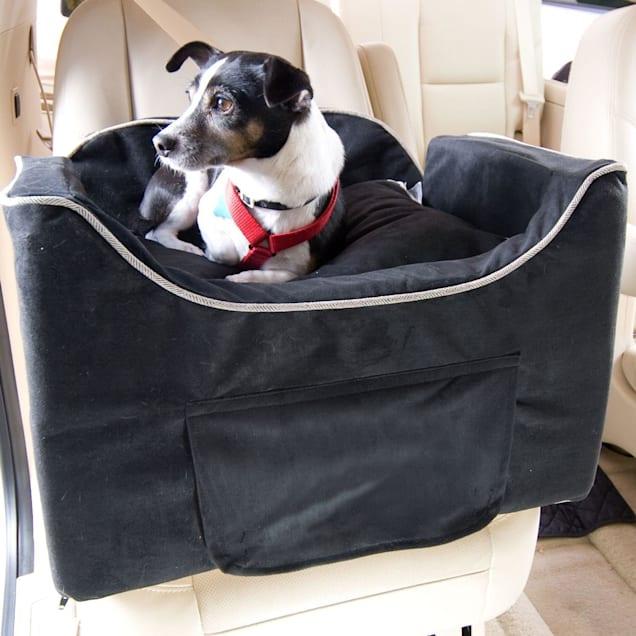 Snoozer Medium Black Luxury Lookout II Dog Car Seat - Carousel image #1