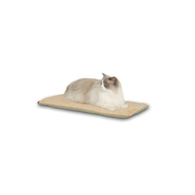 "K&H Thermo-Kitty Mat in Sage, 12.5"" L x 25"" W - Carousel image #1"