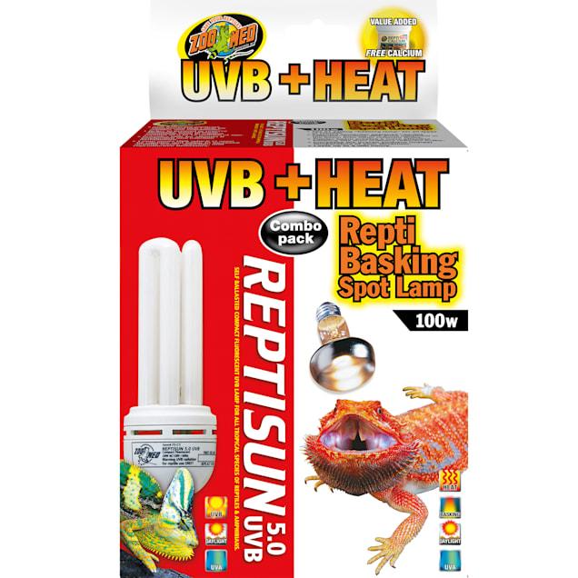 Zoo Med Heat & UVB Combo Pack, 100 Watt - Carousel image #1