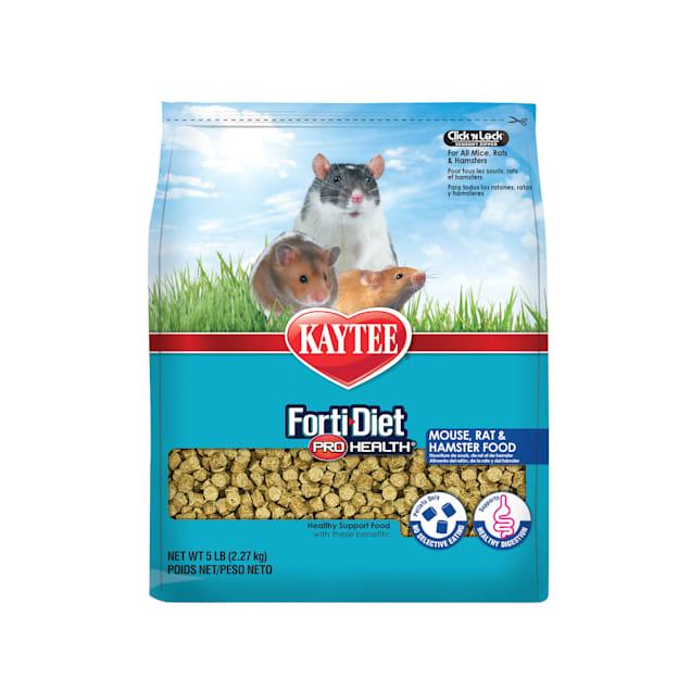 Kaytee Forti-Diet Pro Health Mouse, Rat Food, 5 lbs. - Carousel image #1
