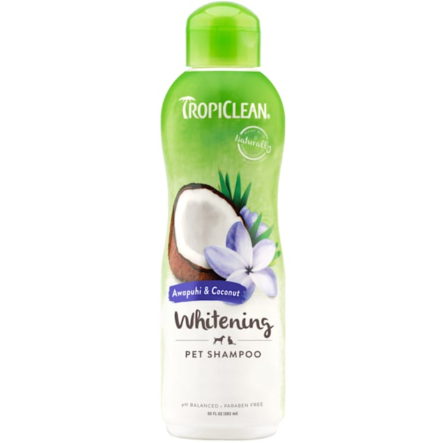 TropiClean Natural Awapuhi White Coat Dog & Cat Shampoo - Carousel image #1