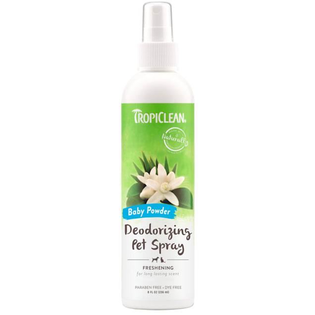 TropiClean Baby Powder Deodorizing Spray for Pets, 8 fl. oz. - Carousel image #1