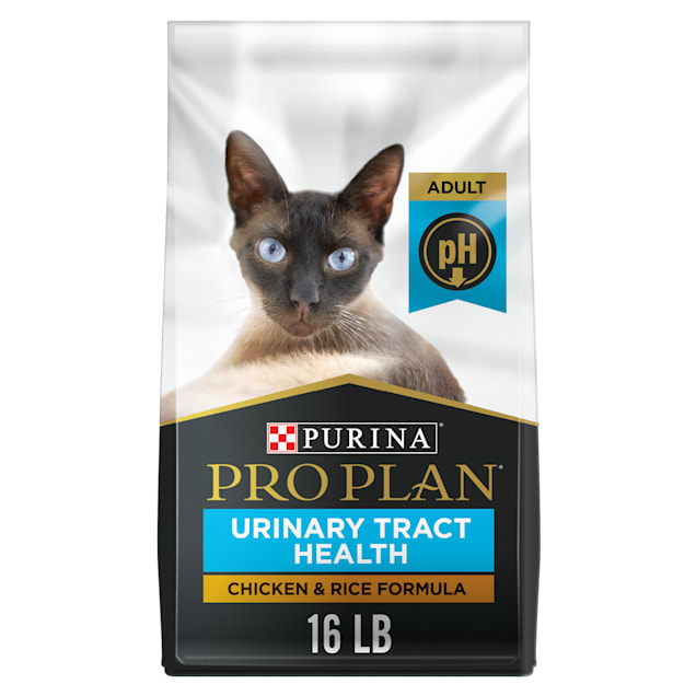 Purina Pro Plan Focus Urinary Tract Health Chicken & Rice Formula Adult Dry Cat Food, 16 lbs. - Carousel image #1