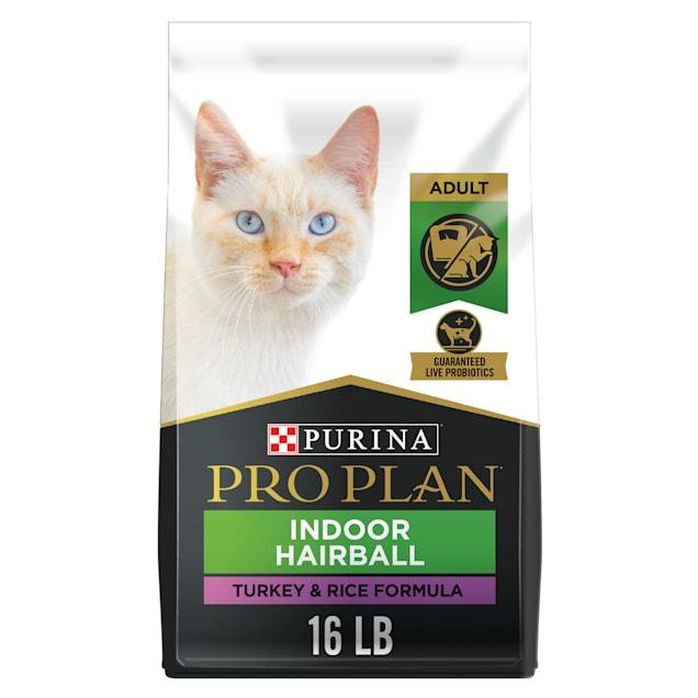 Purina Pro Plan Focus Indoor Care Turkey & Rice Formula Adult Dry Cat Food, 16 lbs. - Carousel image #1