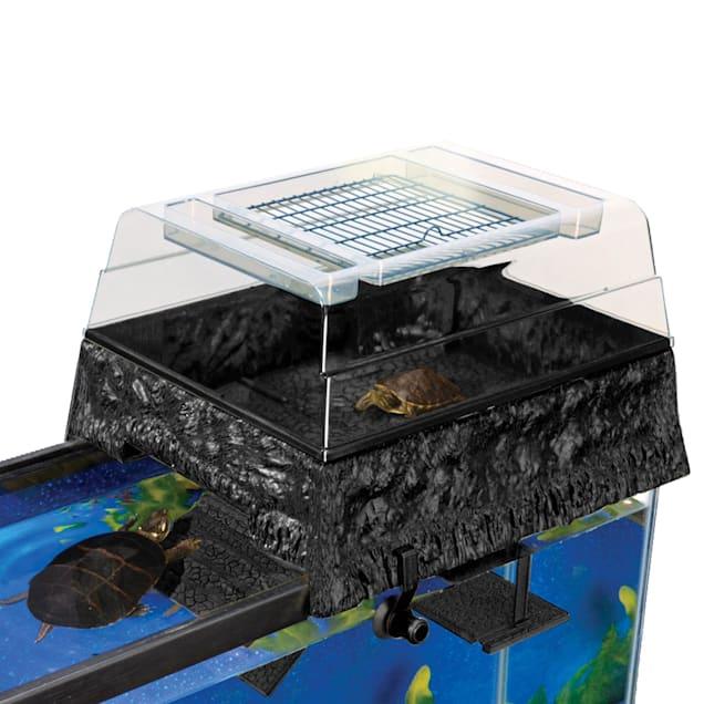 "Penn Plax Reptology Life Science Turtle-Topper Above-Tank Basking Platform, 17"" L X 14"" W X 10"" H - Carousel image #1"