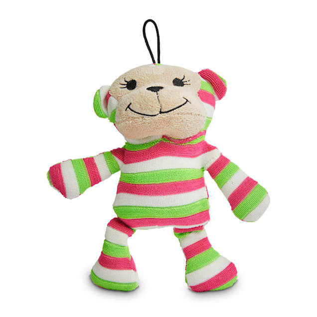 Petco 2 for 5 Toys Go Bananas Monkey Plush Dog Toy in Various Styles, Small - Carousel image #1