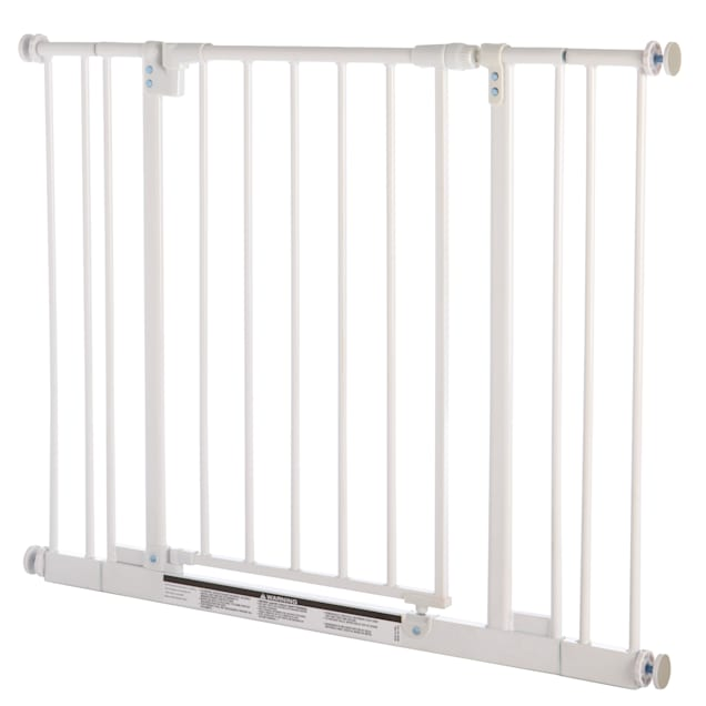 """North States MyPet Easy-Close Pet Gate White, 28""""-38.5"""" W x 29"""" H - Carousel image #1"""