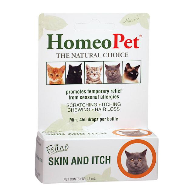 HomeoPet Feline Skin & Itch Natural Cat Coat Enhancer - Carousel image #1