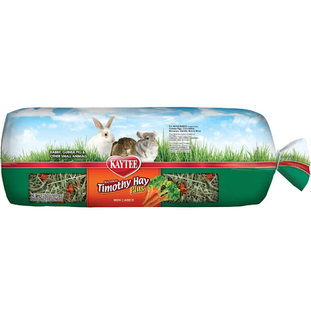 Kaytee Timothy Hay Plus With Carrots For Rabbits & Small Animals, 24 oz. - Carousel image #1
