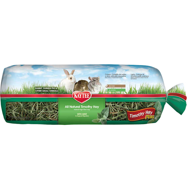 Kaytee Timothy Hay Plus Mint For Rabbits & Small Animals, 24 oz. - Carousel image #1