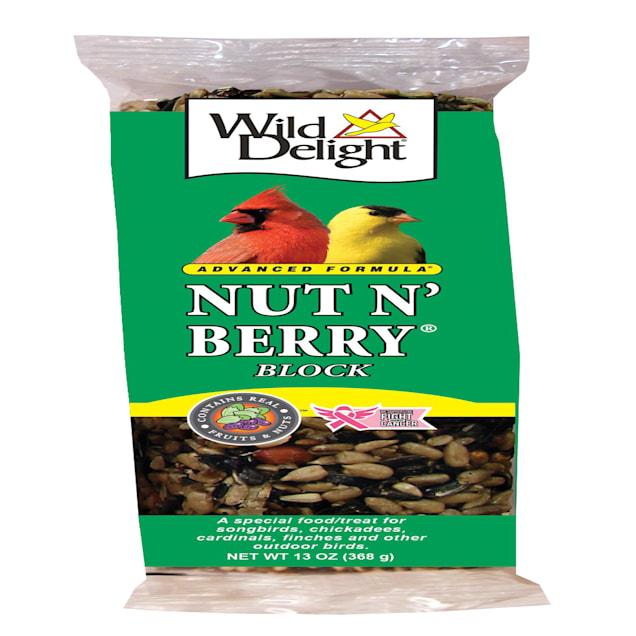 Wild Delight Nut N' Berry Food Block for Wild Birds, 13 oz. - Carousel image #1