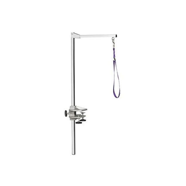 """Midwest 36"""" Deluxe Nickel Chrome Grooming Table Arm - Carousel image #1"""
