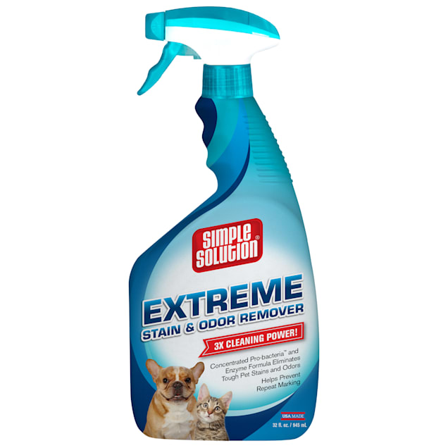 Simple Solution Extreme Stain & Odor Remover for Dogs, 32 fl. oz. - Carousel image #1