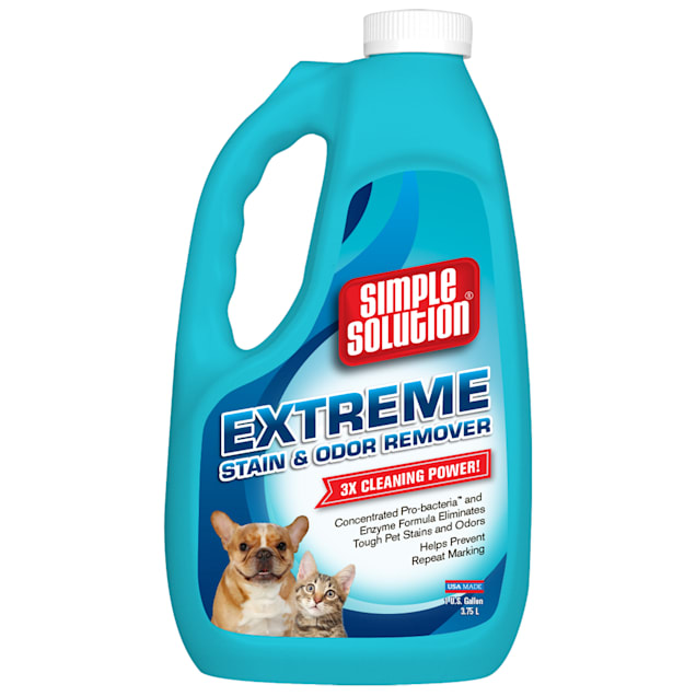 Simple Solution Extreme Formula Stain & Odor Remover for Dogs, 1 Gallon - Carousel image #1