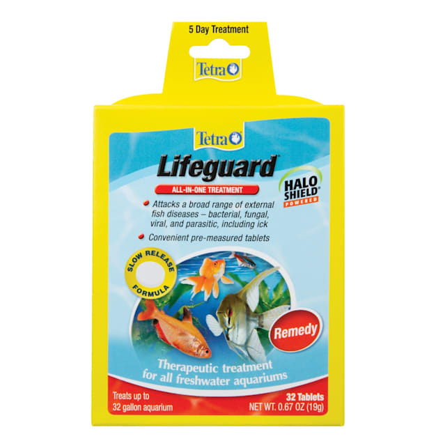 Tetra Lifeguard Treats Disease-Causing Organisms In Aquariums, 32 Count - Carousel image #1