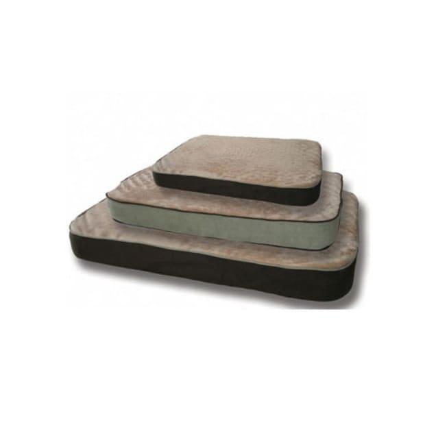 "K&H Memory Sleeper Dog Bed in Mocha, 29"" L x 45"" W - Carousel image #1"