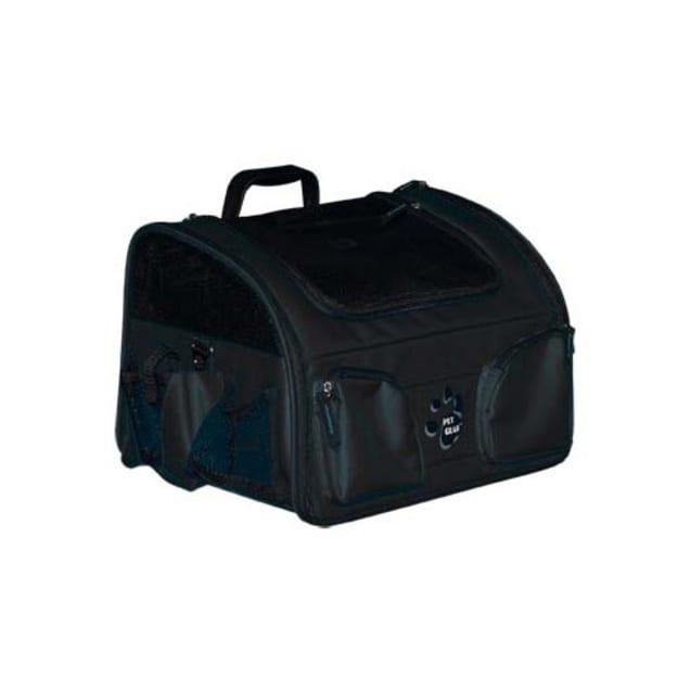 "Pet Gear Black Ultimate Traveler 3-in-1, 16"" L X 12"" W X 11.5"" H, Large - Carousel image #1"