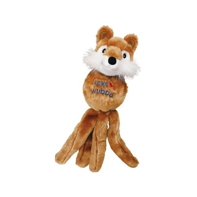 KONG Wubba Friends Assorted Dog Toy, Small - Carousel image #1