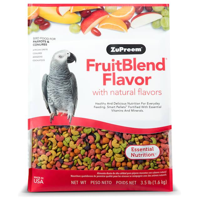 ZuPreem AvianMaintenance FruitBlend Premium Bird Diet for Medium & Large Birds, 3.5 lbs. - Carousel image #1